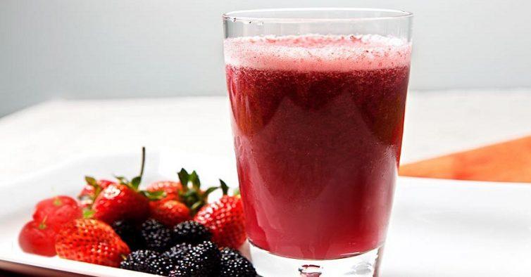 Resultado de imagem para sumo detox frutos vermelhos