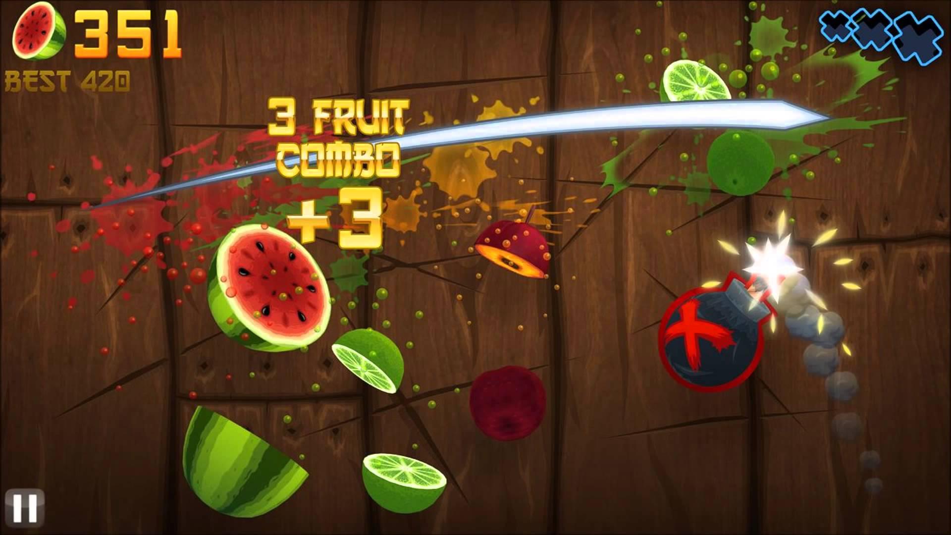 Baixar Fruit Ninja® Hackeado e Atualizado 2018 Com Mod Bônus - Winew