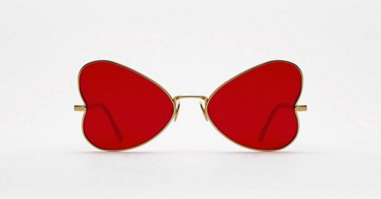 39c46d94e Estes óculos de sol originais fazem parte da linha The Illustrated Series  que resulta de uma parceria desta loja online com The Andy Warhol  Foundation for ...