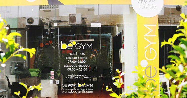 Be Gym  o novo ginásio de Campo de Ourique - NiT be0c427ef01e3