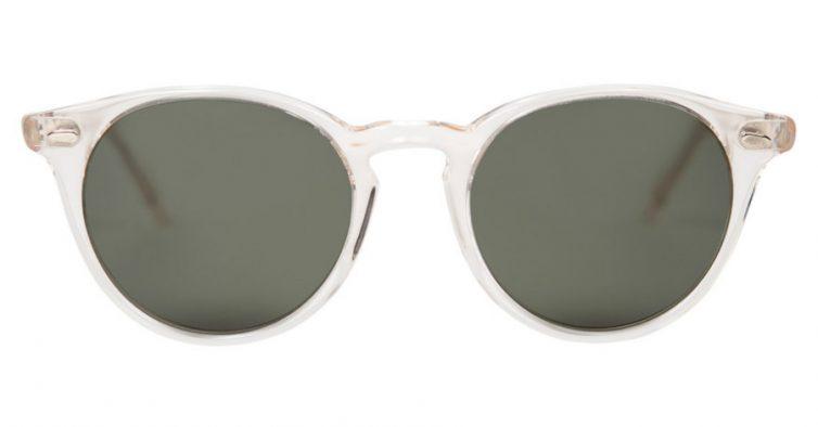 55e9b8e96 Estes óculos de sol, da marca portuguesa Fora Sunglasses, são fabricados em  Portugal. As hastes transparentes são de acetato e vêm caixa e pano para  limpar ...