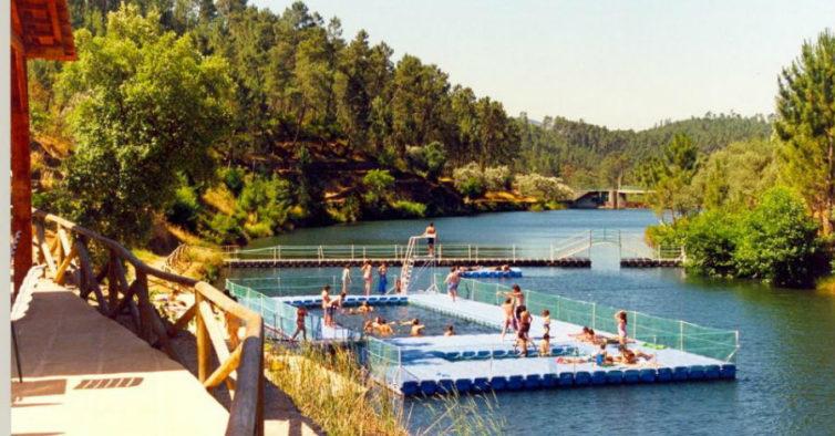 As 24 melhores praias fluviais de portugal for Hoteis zona centro com piscina interior