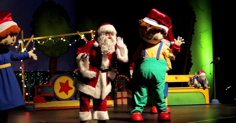 Há concertos de Natal para os miúdos aos domingos no Almada Fórum