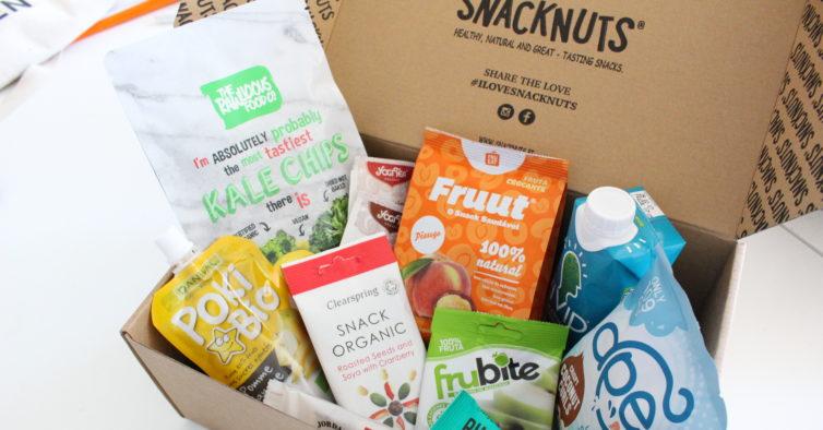 Snacknuts: os snacks saudáveis que chegam a casa todos os meses