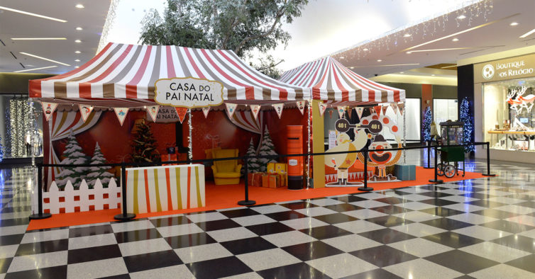 546eaa32918 O Circo de Natal vai passar por três centros comerciais