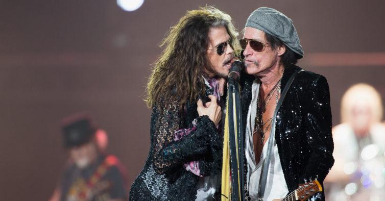 bilhetes Aerosmith