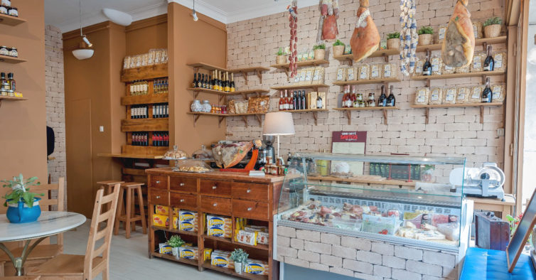 Restaurantes com mercearia