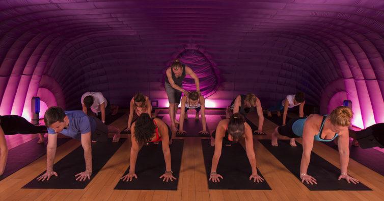 O Hotpod Yoga já tem uma morada e horário fixa