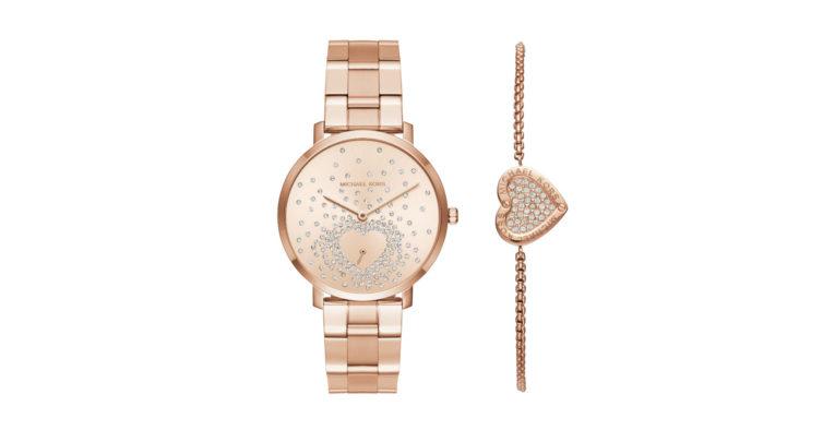 e12e58d19a079 Este ano a Michael Kors lança um relógio e uma pulseira para o Dia ...