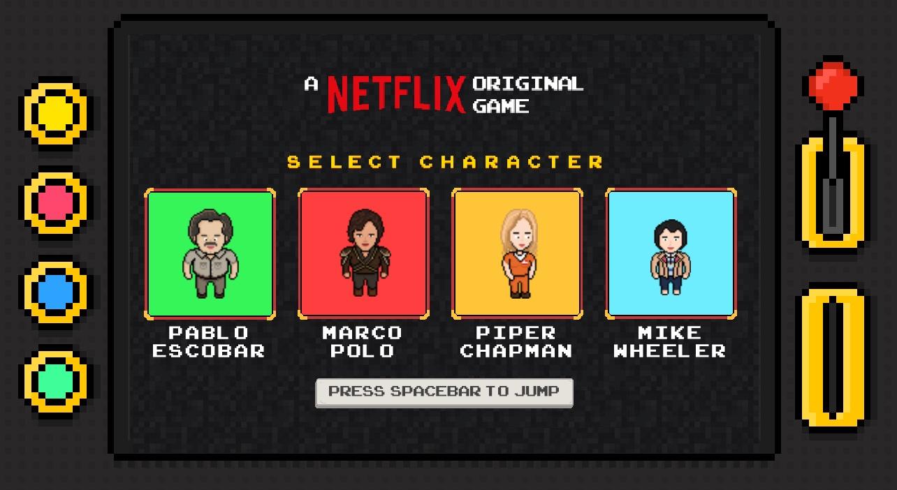 Netflix cria jogo online com personagens de sries nit stopboris Images