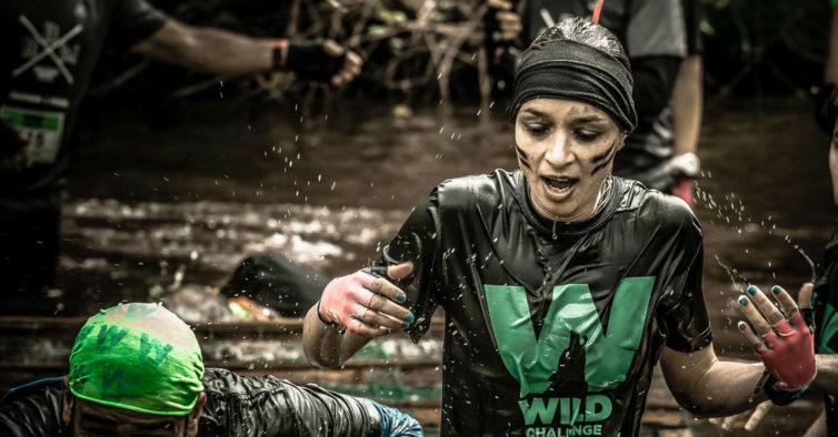 Wild Challenge Coimbra: uma corrida onde é preciso nadar, rastejar e escalar