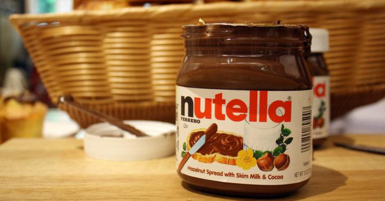 Nutella é potencialmente cancerígeno