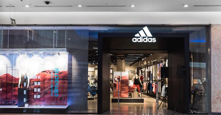 684afcc5a73 Adidas abre mais uma loja na Grande Lisboa