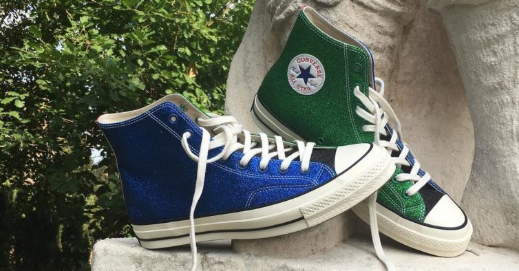 da710707d95 As novas sapatilhas Converse são feitas com brilhantes