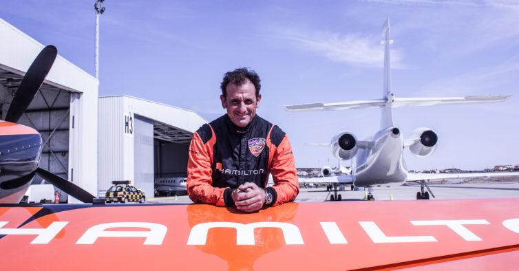 Voei com um piloto da Red Bull Air Race e foi o momento mais