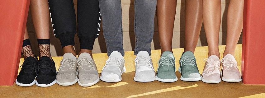 Aldo lança coleção de sapatilhas com as cores da moda ce791f0ff48