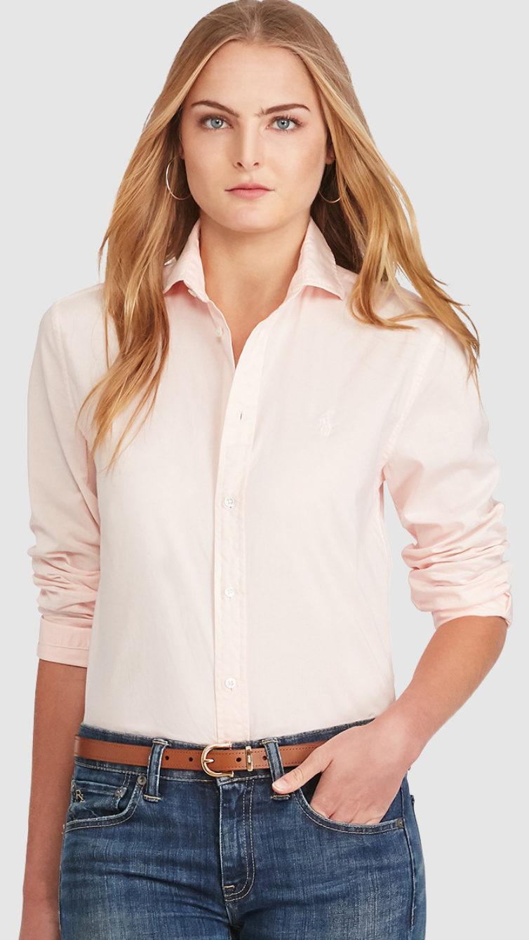fe3fdda200e24 Camisa básica de mulher Polo Ralph Lauren (60€ — antes era 120€) - NiT