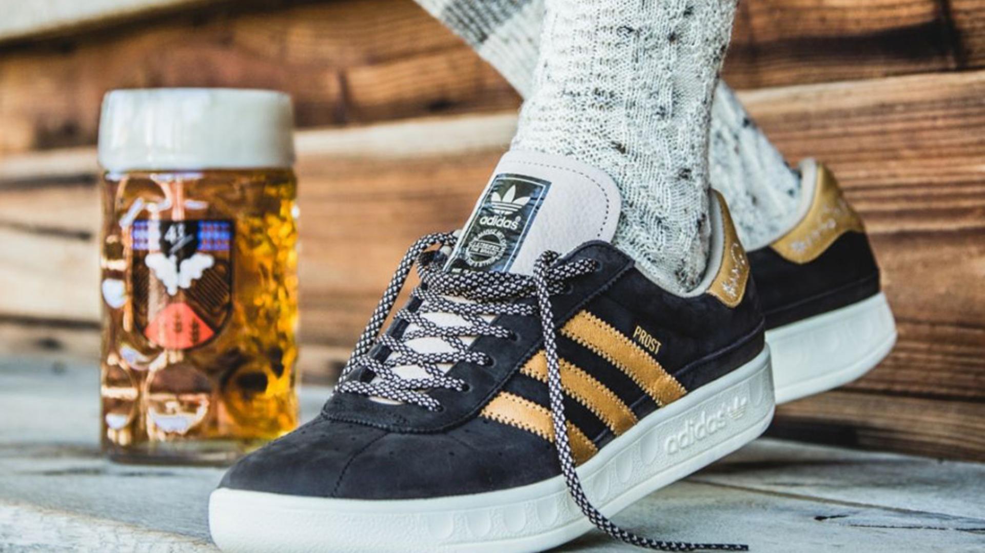 6682f2b80c Os novos ténis da Adidas são à prova de cerveja e más disposições