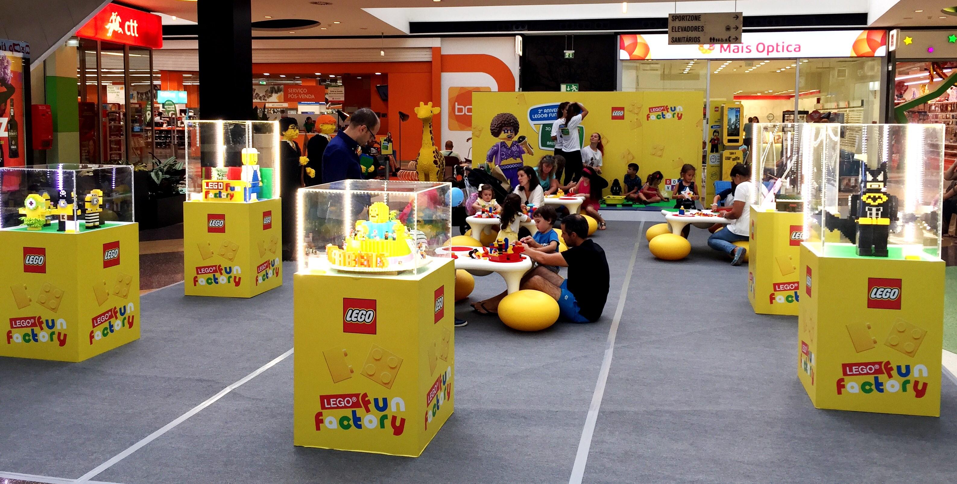 """26e7399a589da A saga """"Star Wars"""" toma conta da Lego Fun Factory"""