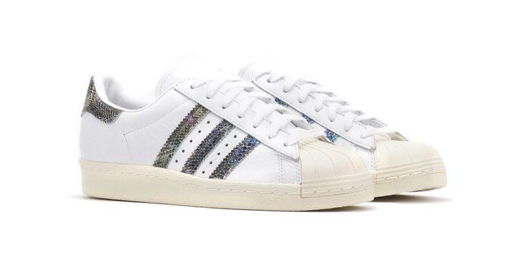 Adidas lança versão cheia de glitter dos Superstar