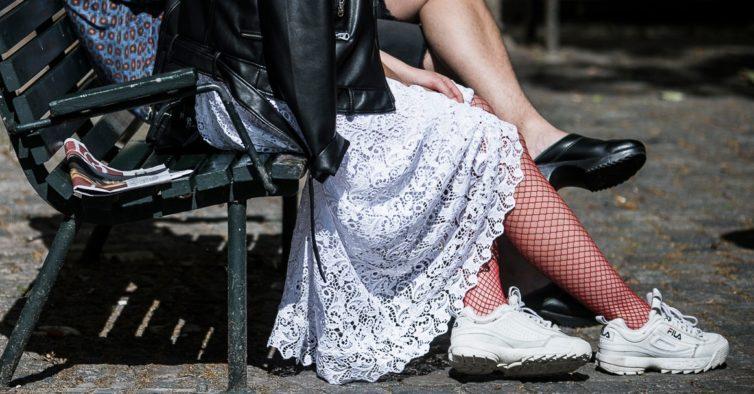 FILA: marca italiana lança sapatilhas em rosa milenar