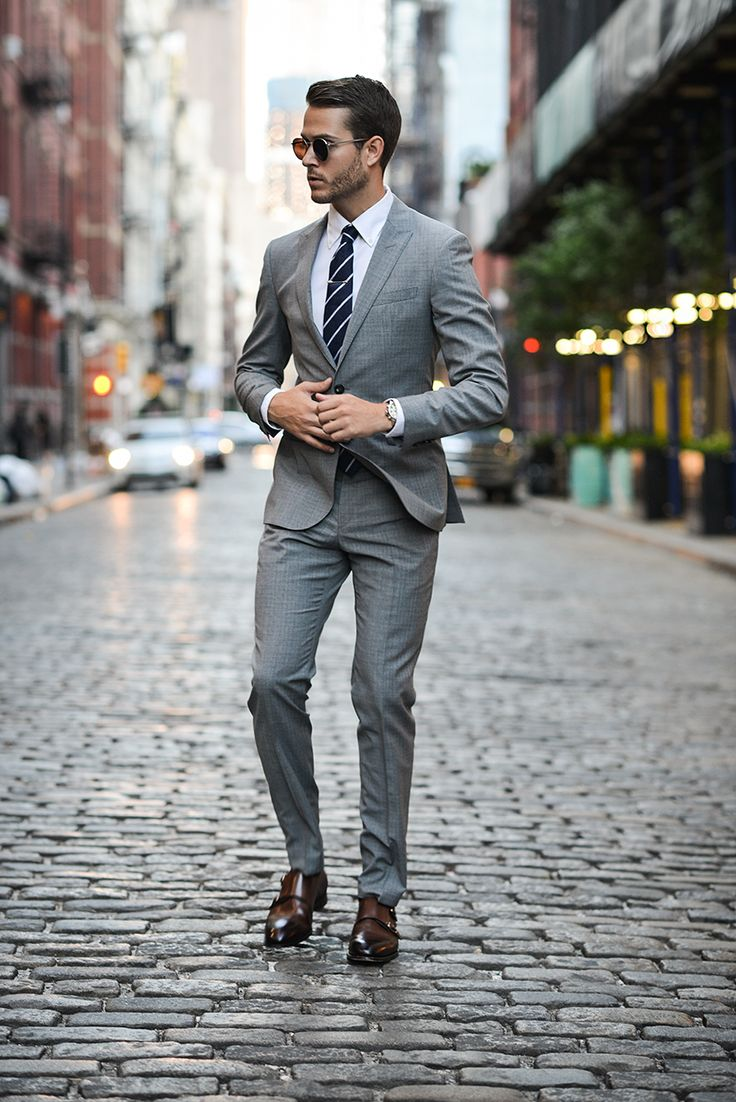 Best 25 Grey Suit Brown Shoes Ideas On Wedding Suits And