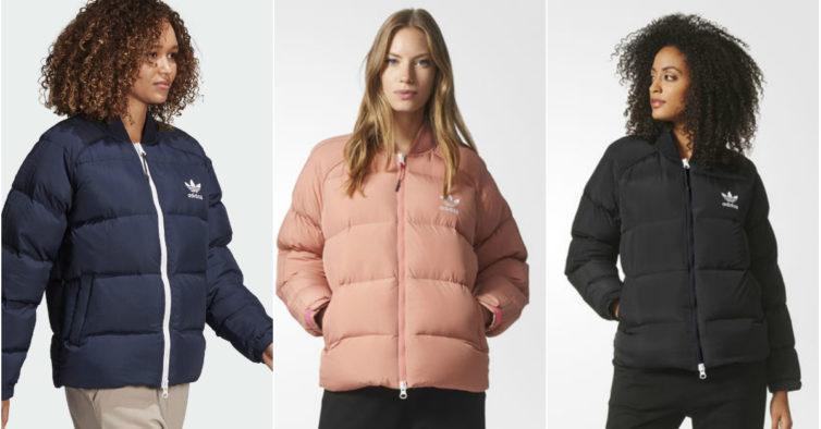 O casaco acolchoado da moda da Adidas custa menos 125€