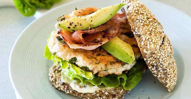 hambúrgueres saudáveis