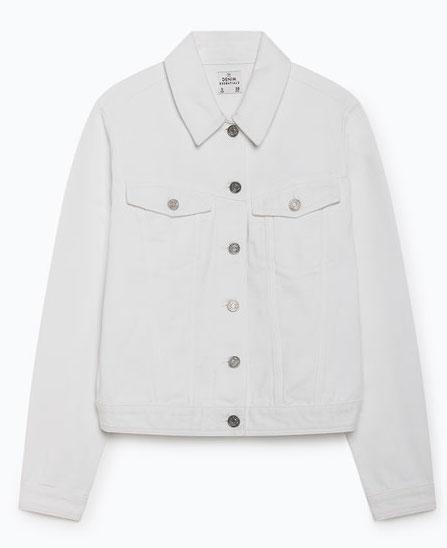 a38239233426 O novíssimo blusão de ganga da Lefties é para usar já (e só custa 15€)