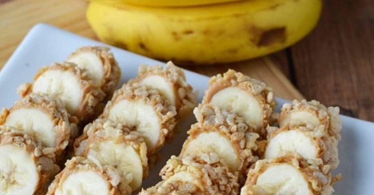 Super Sushi de banana para o lanche dos miúdos MN41