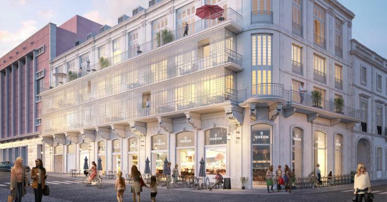 Cinema Odeon vai ser transformado em habitação de luxo