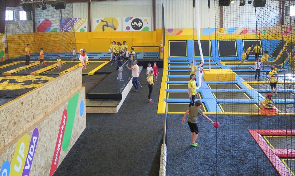 Já abriu o maior parque de trampolins 100% português 34aee575f430d