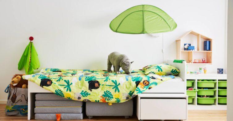 A nova coleção da IKEA vai transformar o quarto dos miúdos numa selva