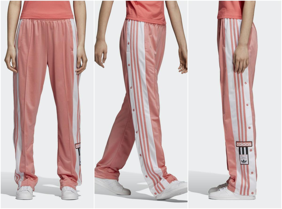 Calça com faixa lateral adidas