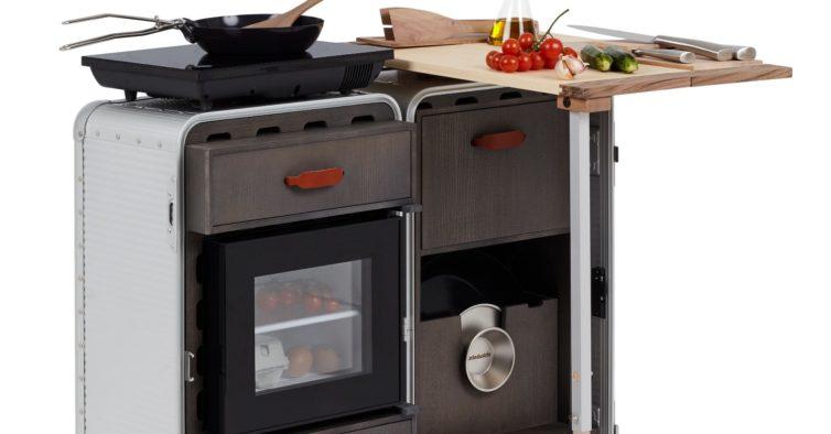 As malas de viagem do futuro têm cama, forno e secretária — e já estão à venda