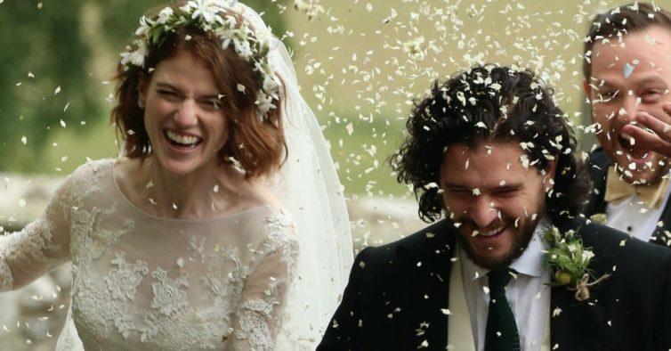"""Jon Snow e Ygritte, de """"A Guerra dos Tronos"""", casaram na vida real"""