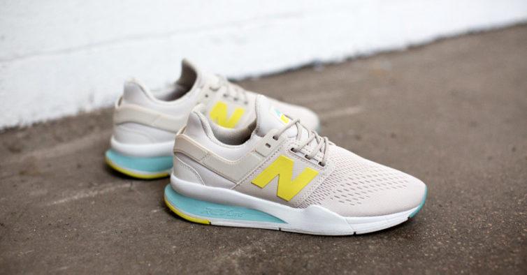 a8a15ae3f7f A cor mais famosa. As novas sapatilhas da New Balance estão disponíveis em  ...