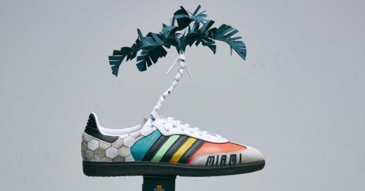 Celebridades desenham linha especial de sapatilhas Adidas