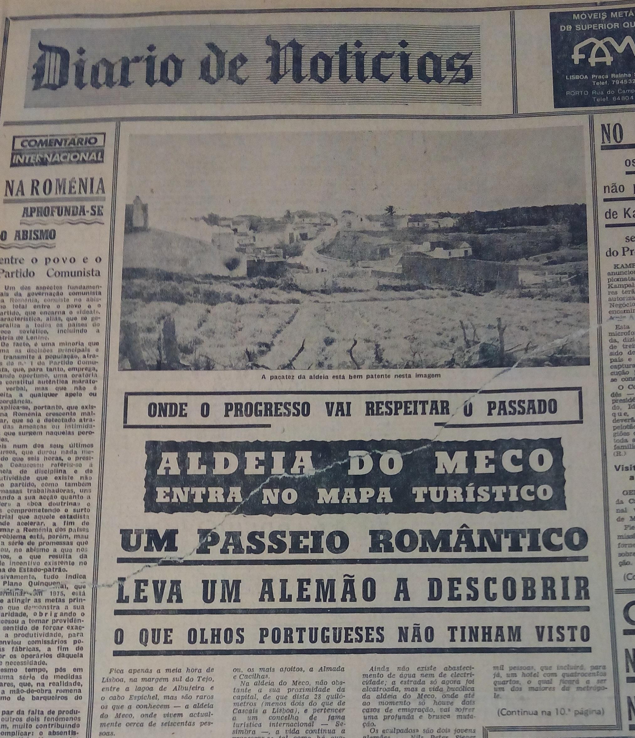 Era Uma Vez No Meco A Praia Onde A Elite De Lisboa Se Despiu