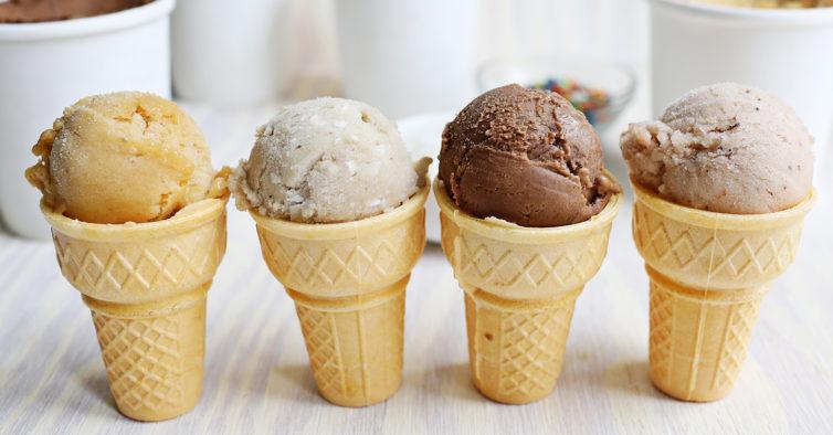 gelados saudáveis