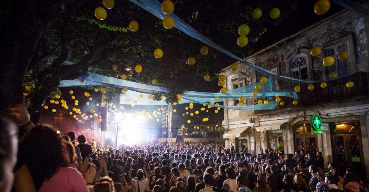 O festival Sobe à Vila durante quatro dias.