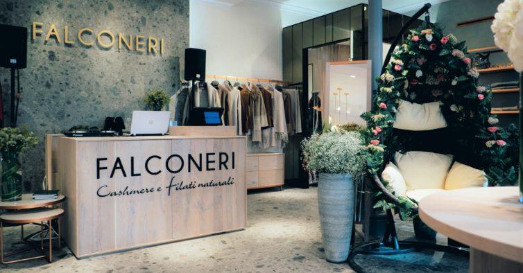 5c828ec33 Marca italiana Falconeri abriu a sua primeira loja em Portugal