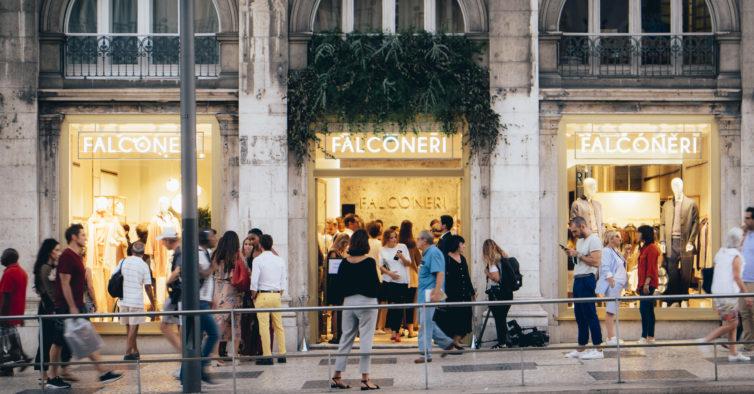 e9159d2fe Marca italiana Falconeri inaugura primeira loja em Portugal