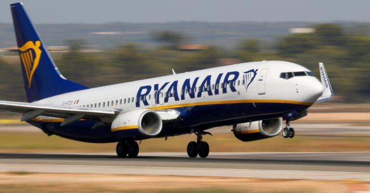 Ryanair cancela 190 voos por causa da greve marcada para sexta-feira