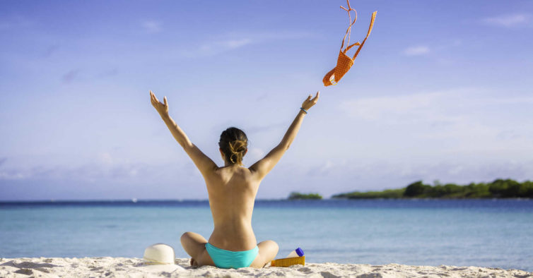 praia naturista