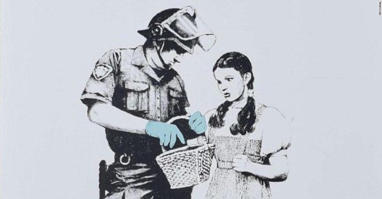 Vem aí mais um leilão com obras de Banksy – se o artista não as destruir