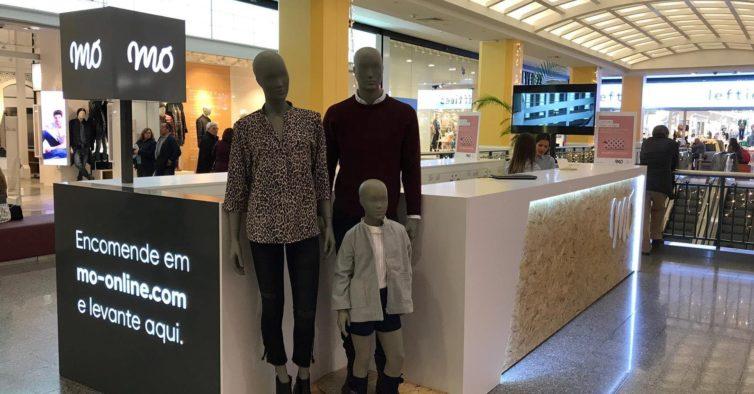 MO abre a primeira pop up store no Centro Comercial Colombo 295f963738