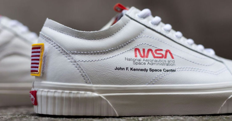 0e4995464be Vans homenageia a NASA em nova coleção de roupa e calçado