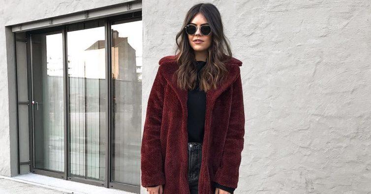 casaco de pelo