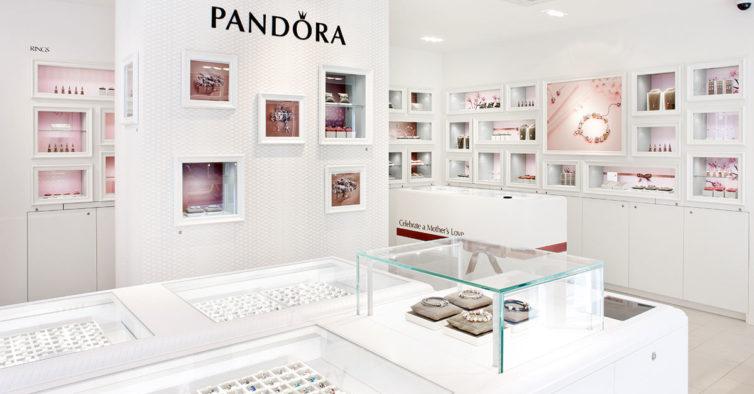 Há mais uma loja da Pandora na Grande Lisboa